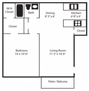 1 Bedroom / Phase 1 & 2