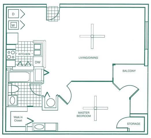 Floor Plans Of Ocean Reef At Seawalk Pointe Apartments In
