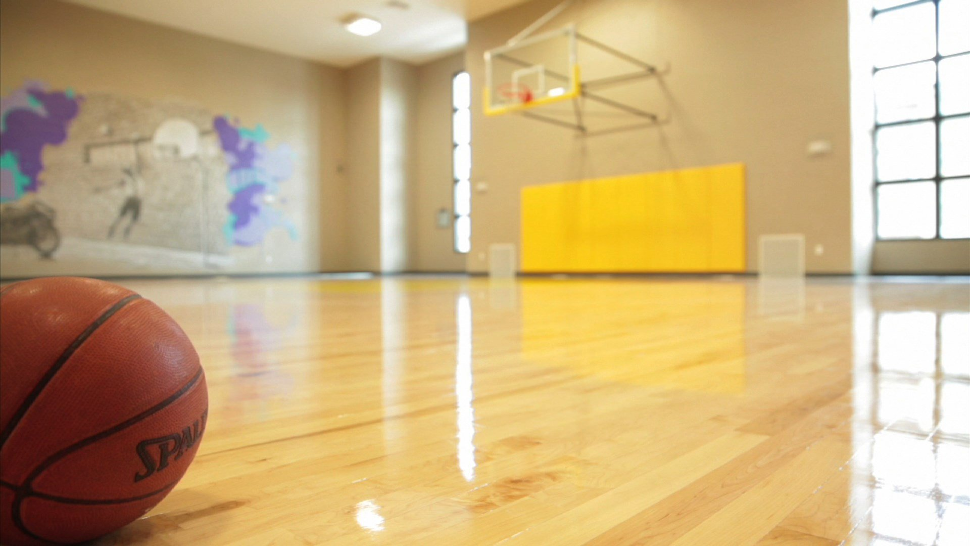 Indoor Basketball Court at Creekside Ranch Apartments in Bradenton, FL