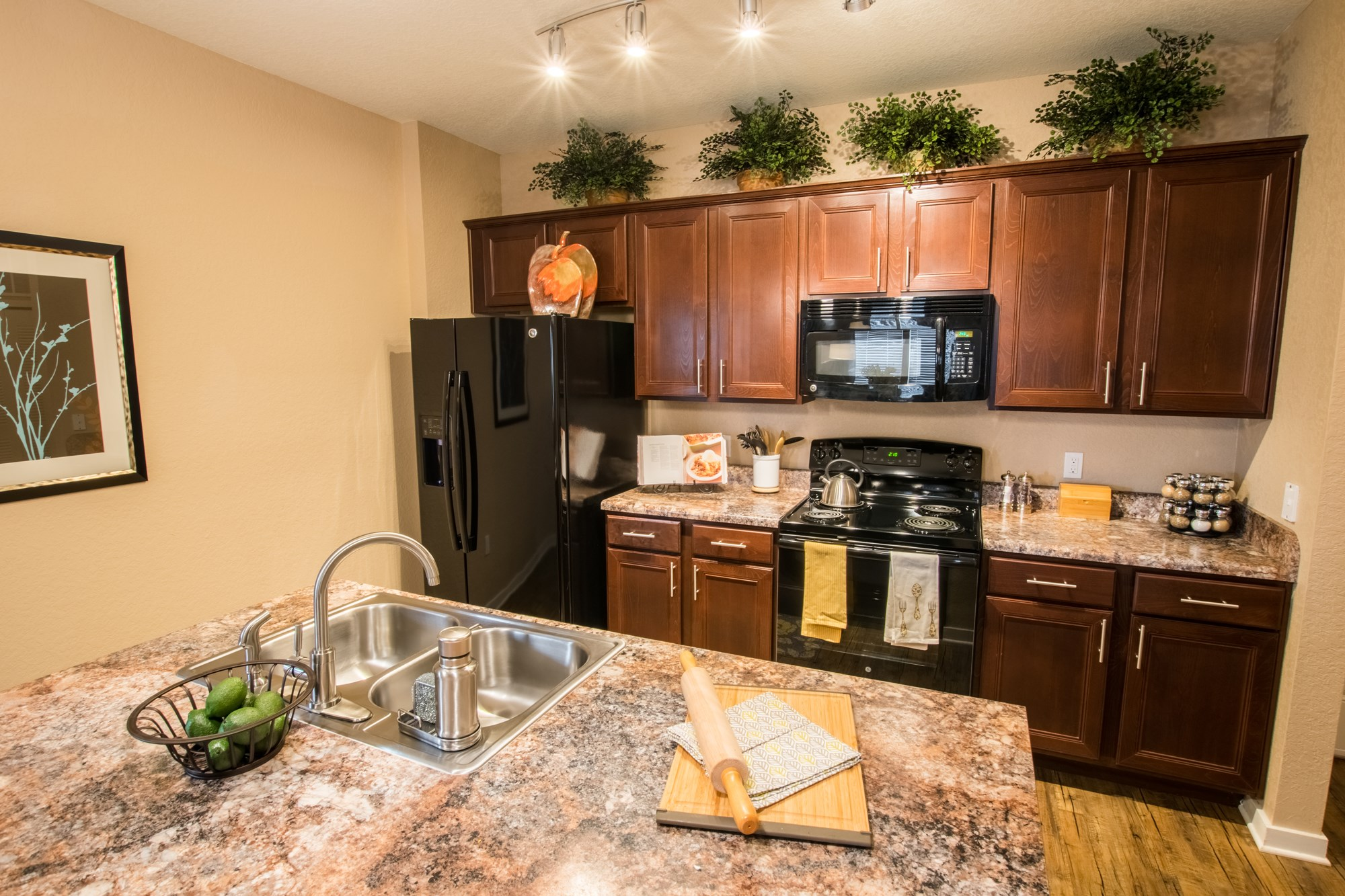 Deluxe Kitchen at Creekside Ranch Apartments in Bradenton, FL