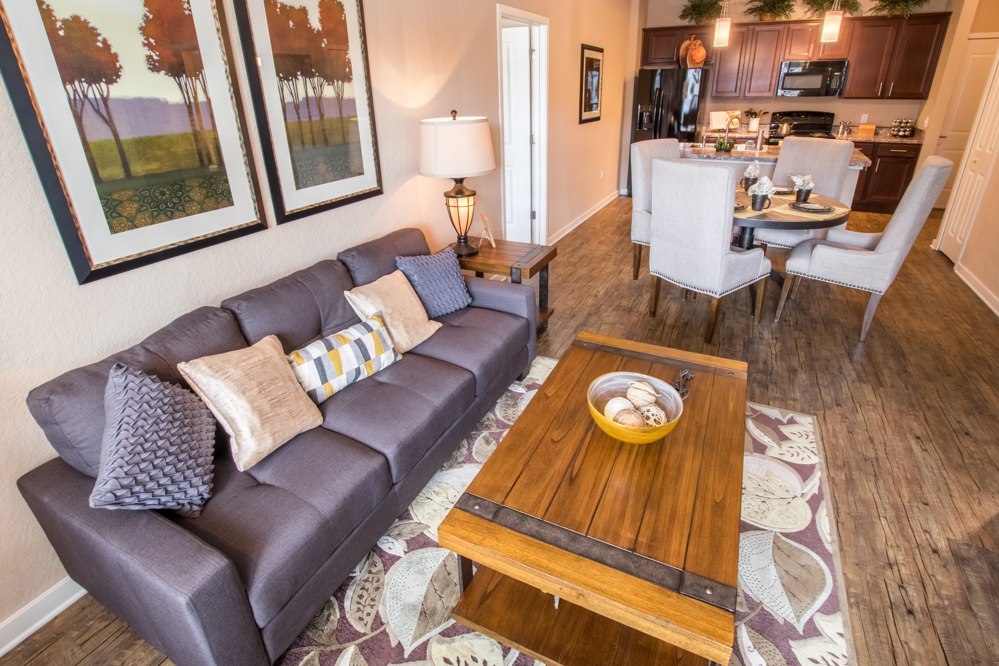 Open Living Spaces at Creekside Ranch Apartments in Bradenton, FL