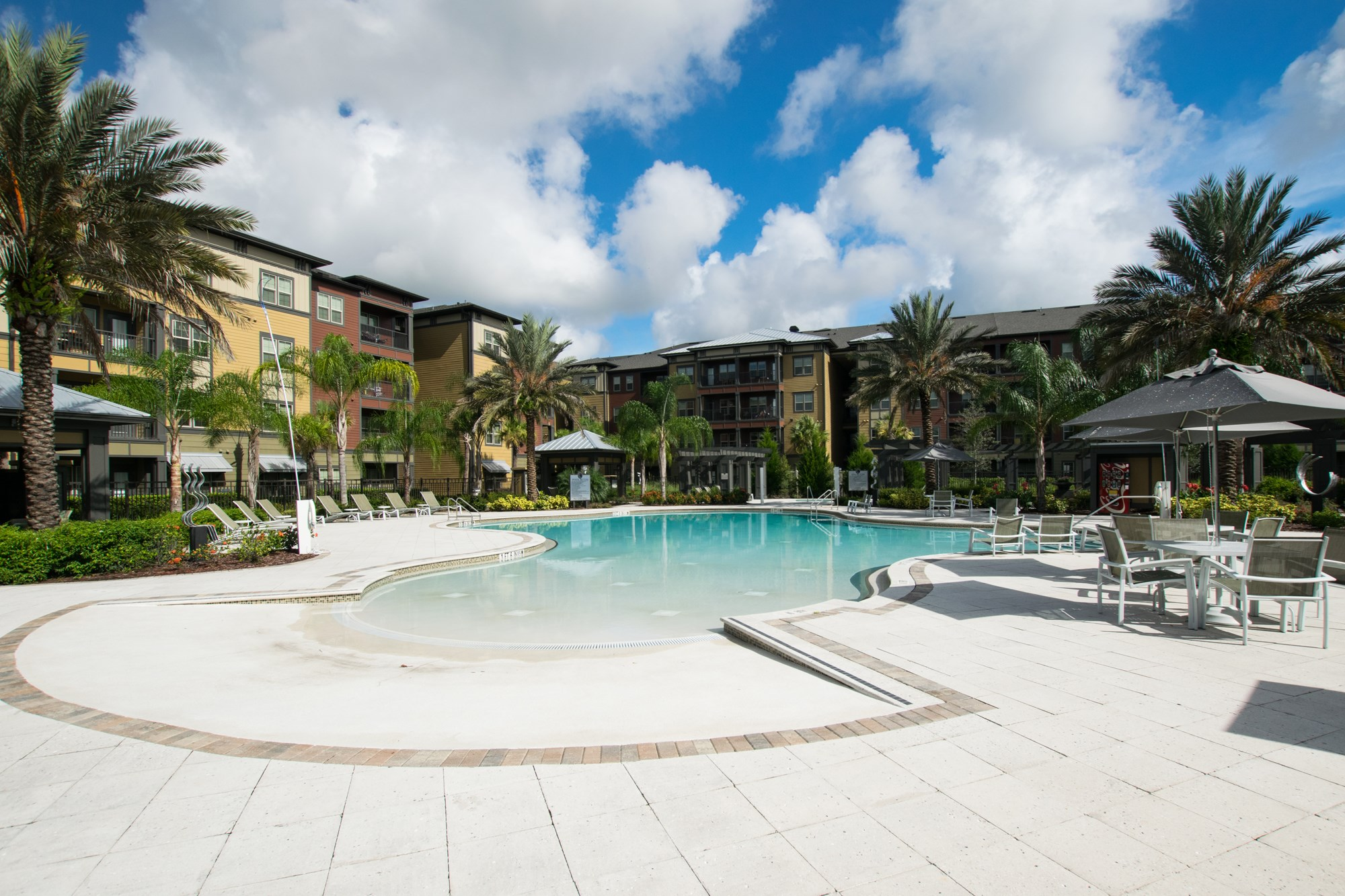Resort Style Swimming Pool at Creekside Ranch Apartments in Bradenton, FL