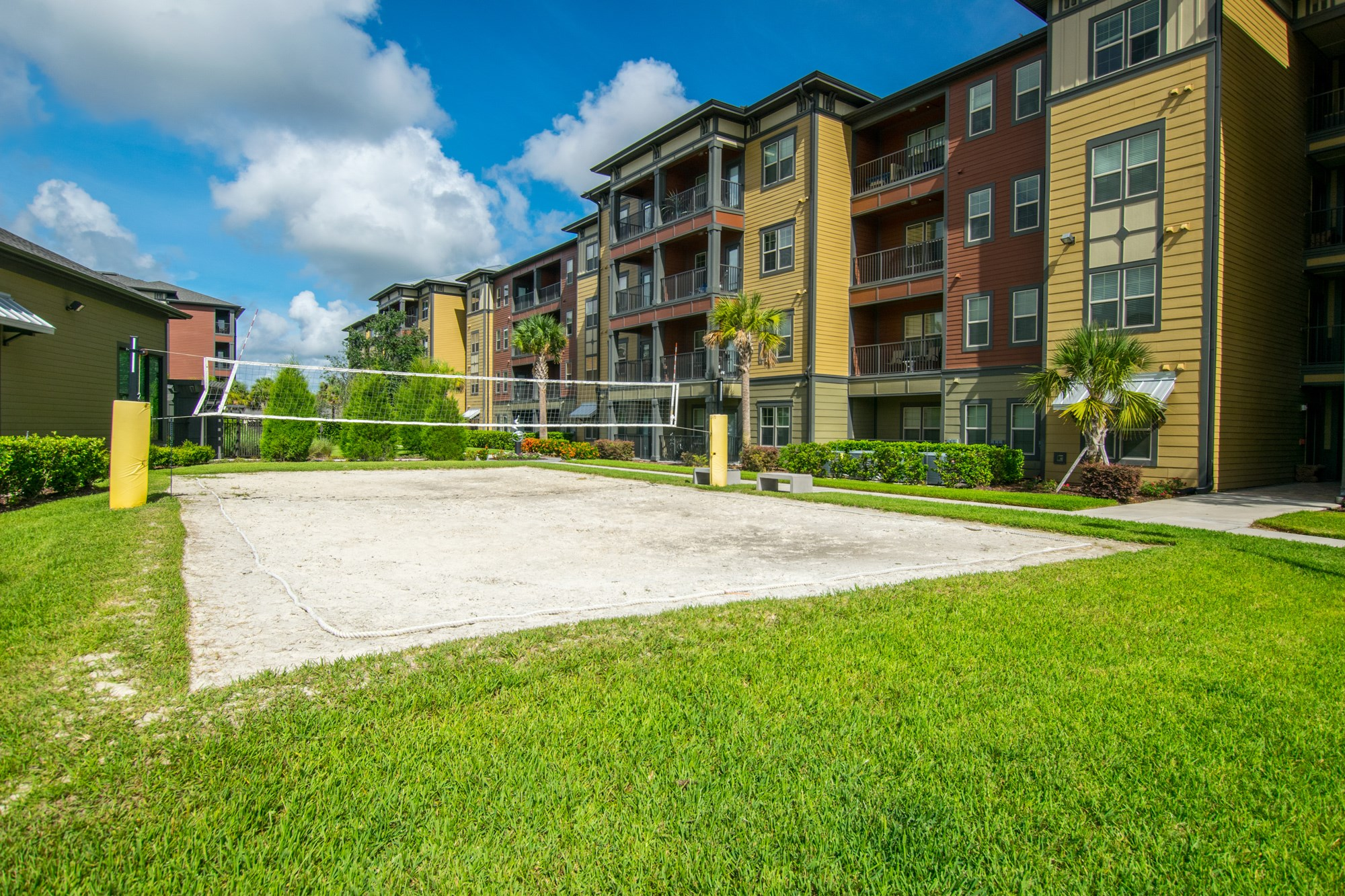 Volleyball Court at Creekside Ranch Apartments in Bradenton, FL