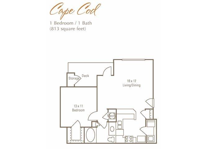 Cape Cod Floor Plan 3
