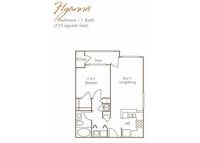 Hyannis Floor Plan 2