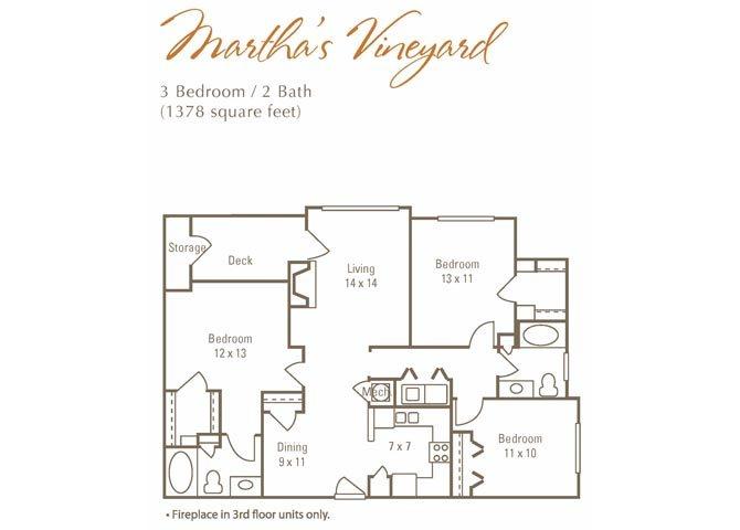 Martha Vineyard Floor Plan 5