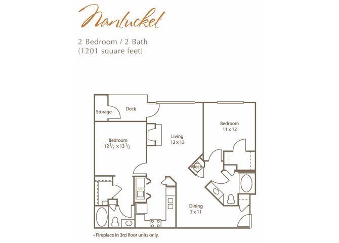 Nantucket Floor Plan 4