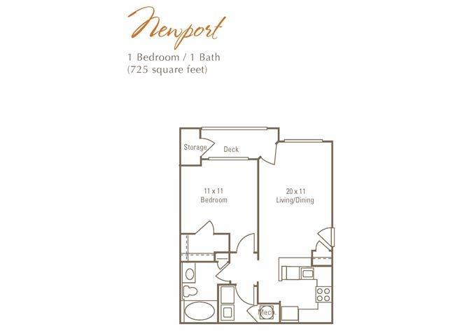 Newport Floor Plan 1