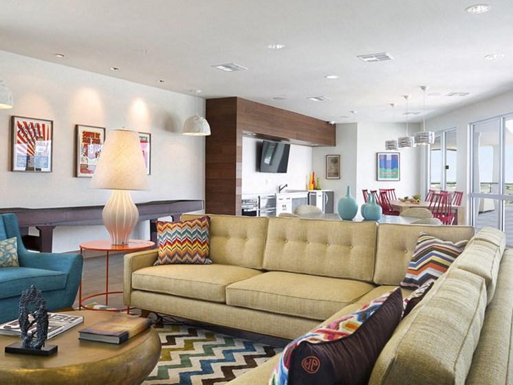 Burnet Flats Rooftop Lounge