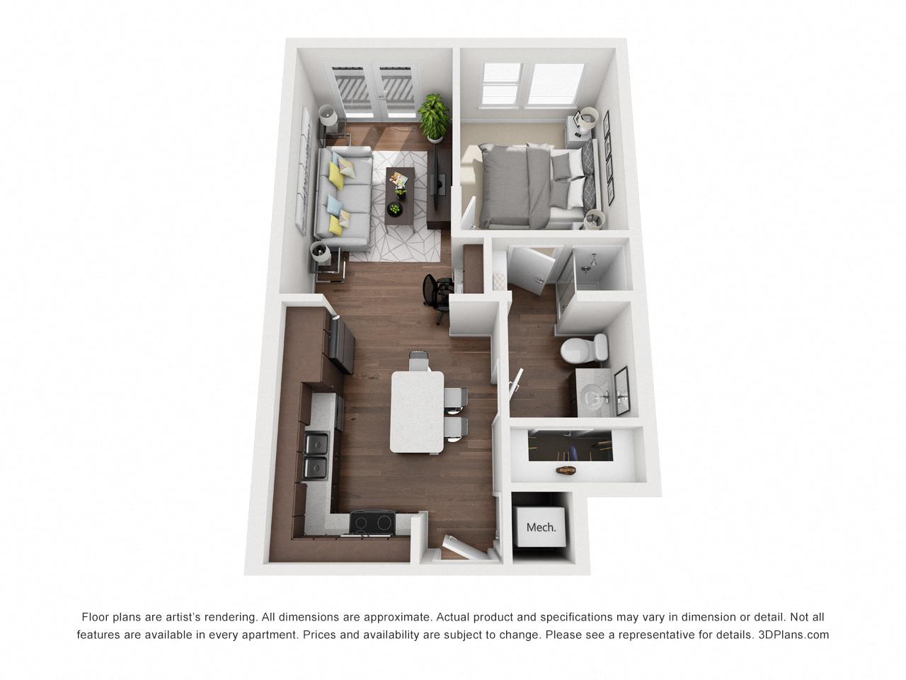 Alpine Floor Plan 1