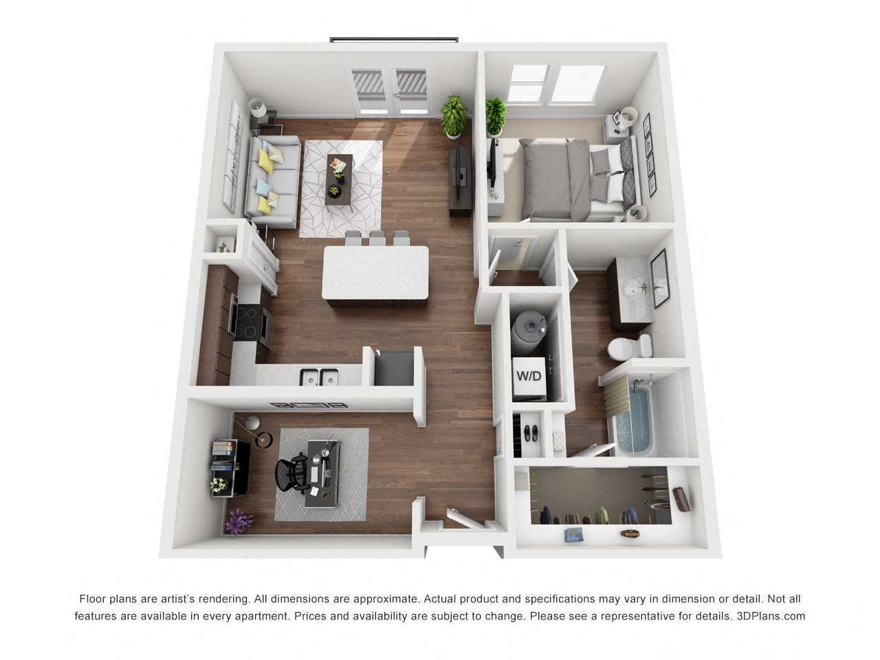 Lajitas Floor Plan 3