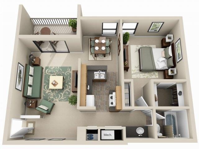Caribou Floor Plan 3