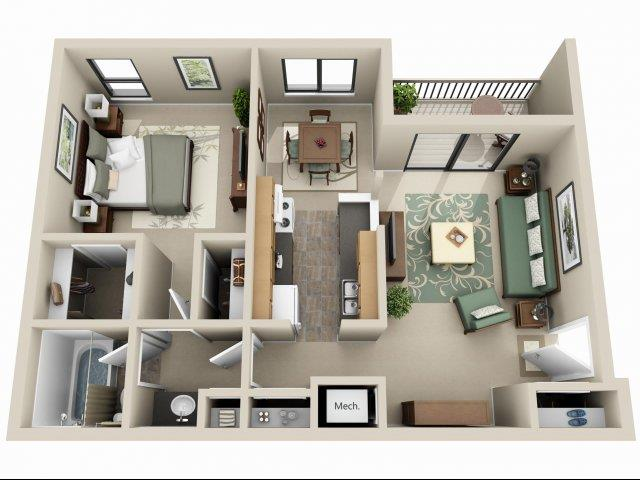 Hazelnut Floor Plan 4