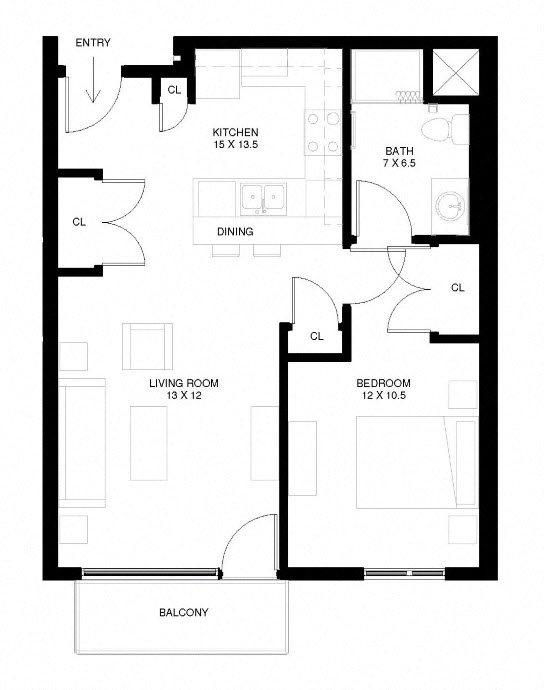 The Rose Apartments - South Quarter - Minneapolis - Aeon
