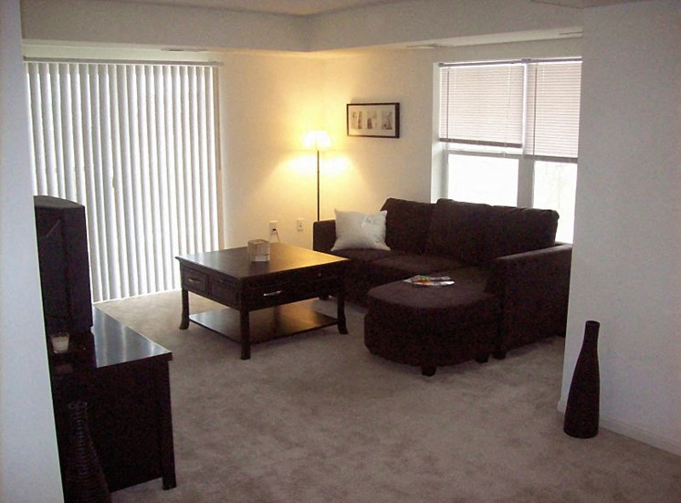 Corner living room
