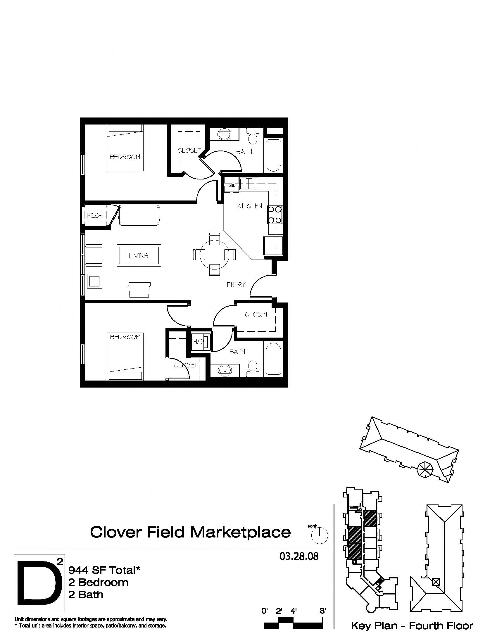 Floor Plans of Clover Field Marketplace in Chaska, MN