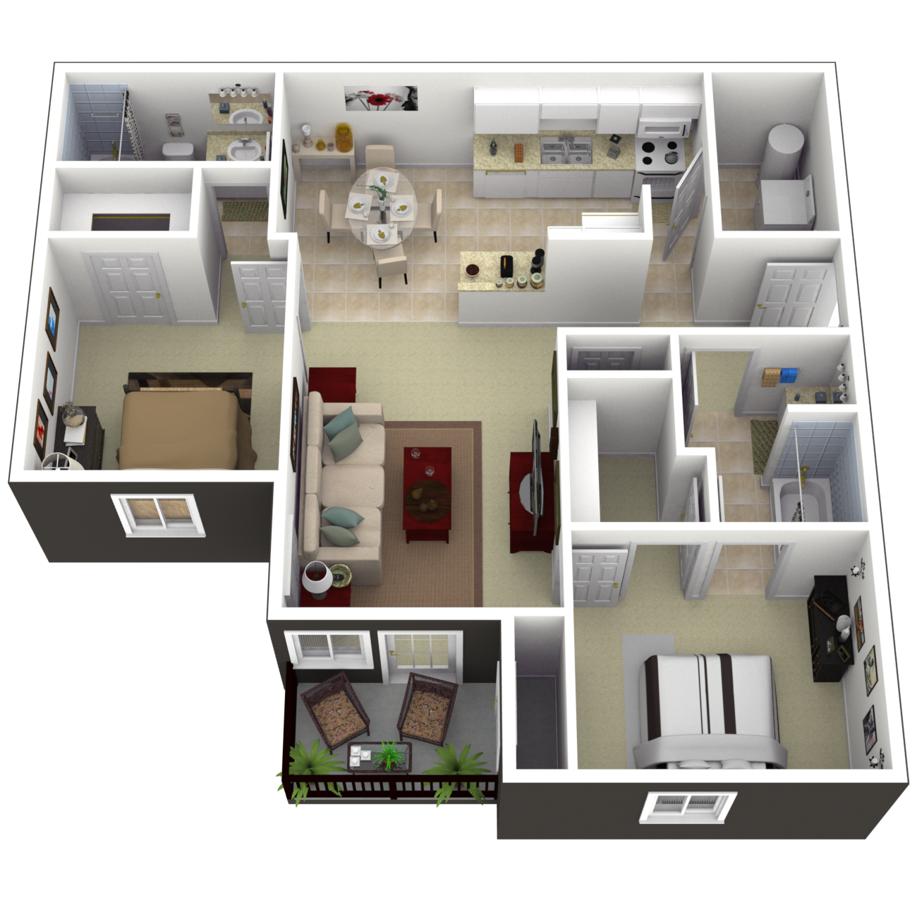 The Cove Floor Plan 1