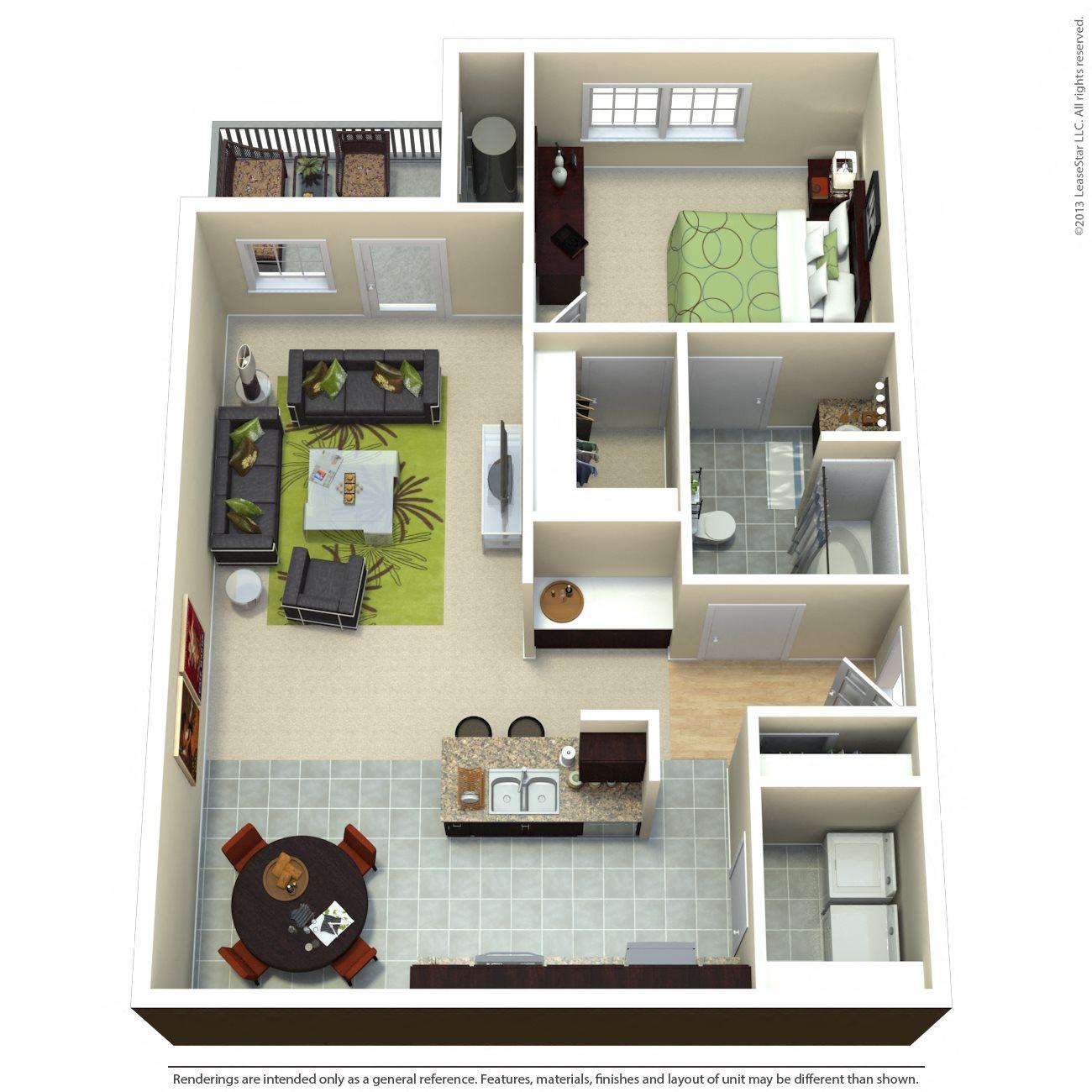 The Ritz Floor Plan 1