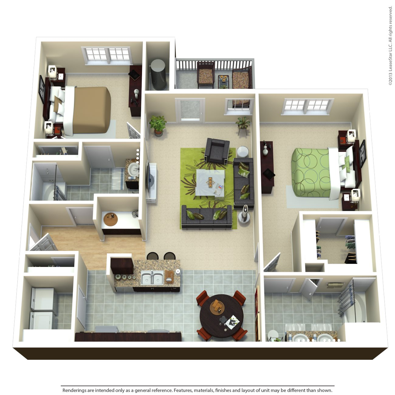 The Rockefeller Floor Plan 3