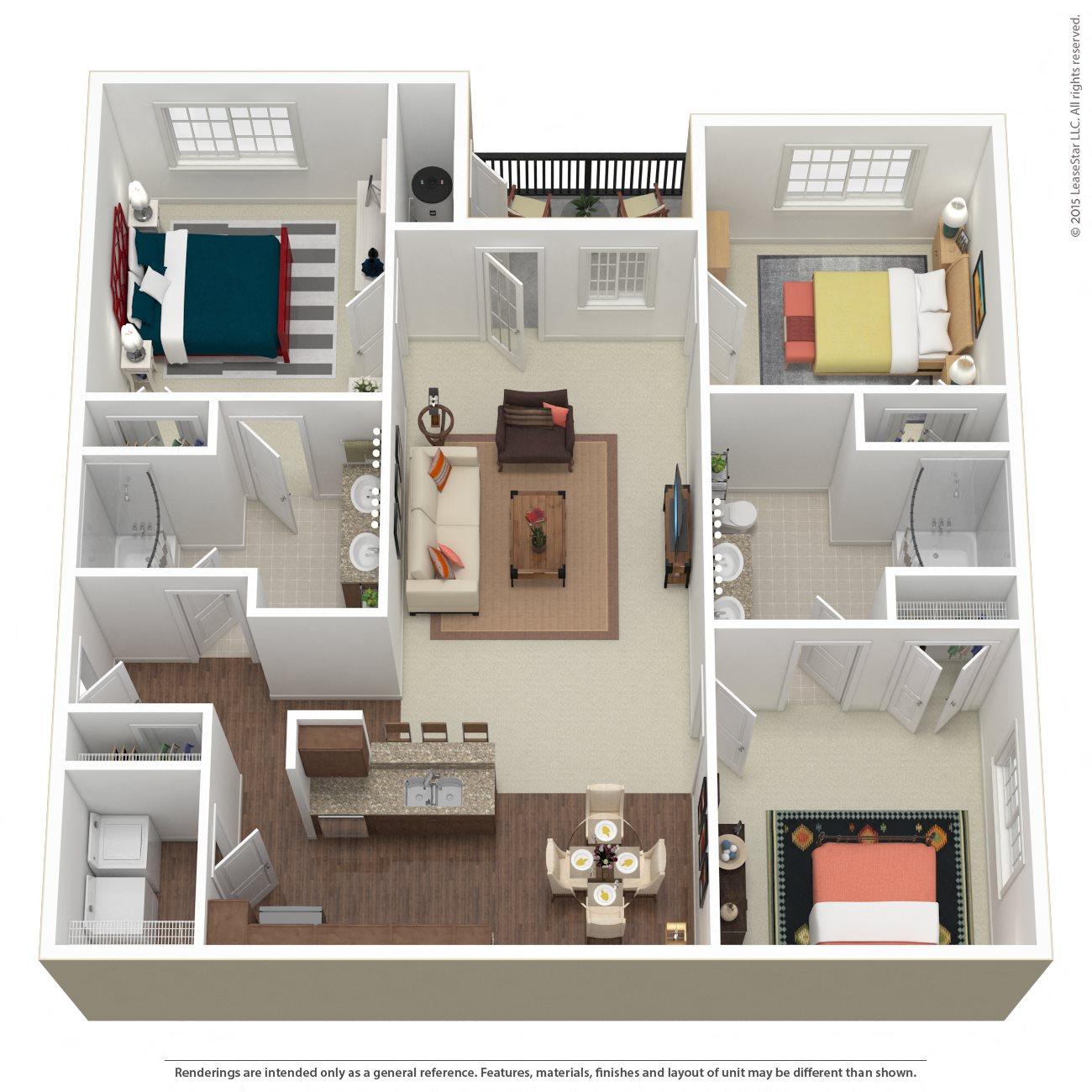 The Pavillion Floor Plan 5