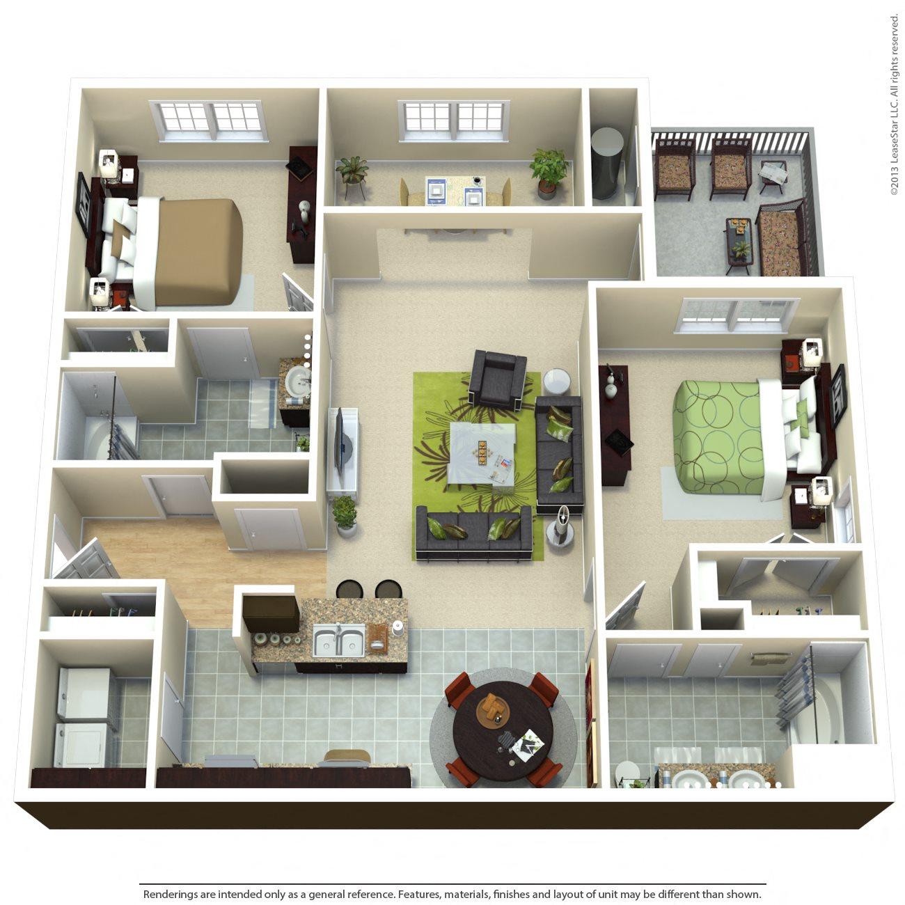 The Manhattan Floor Plan 4