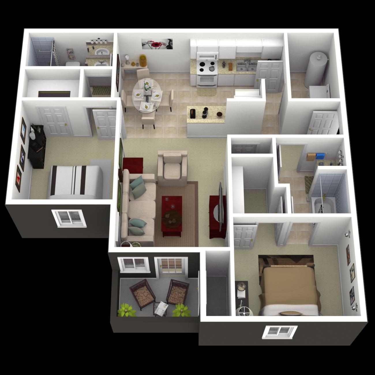 The Ashville Floor Plan 3