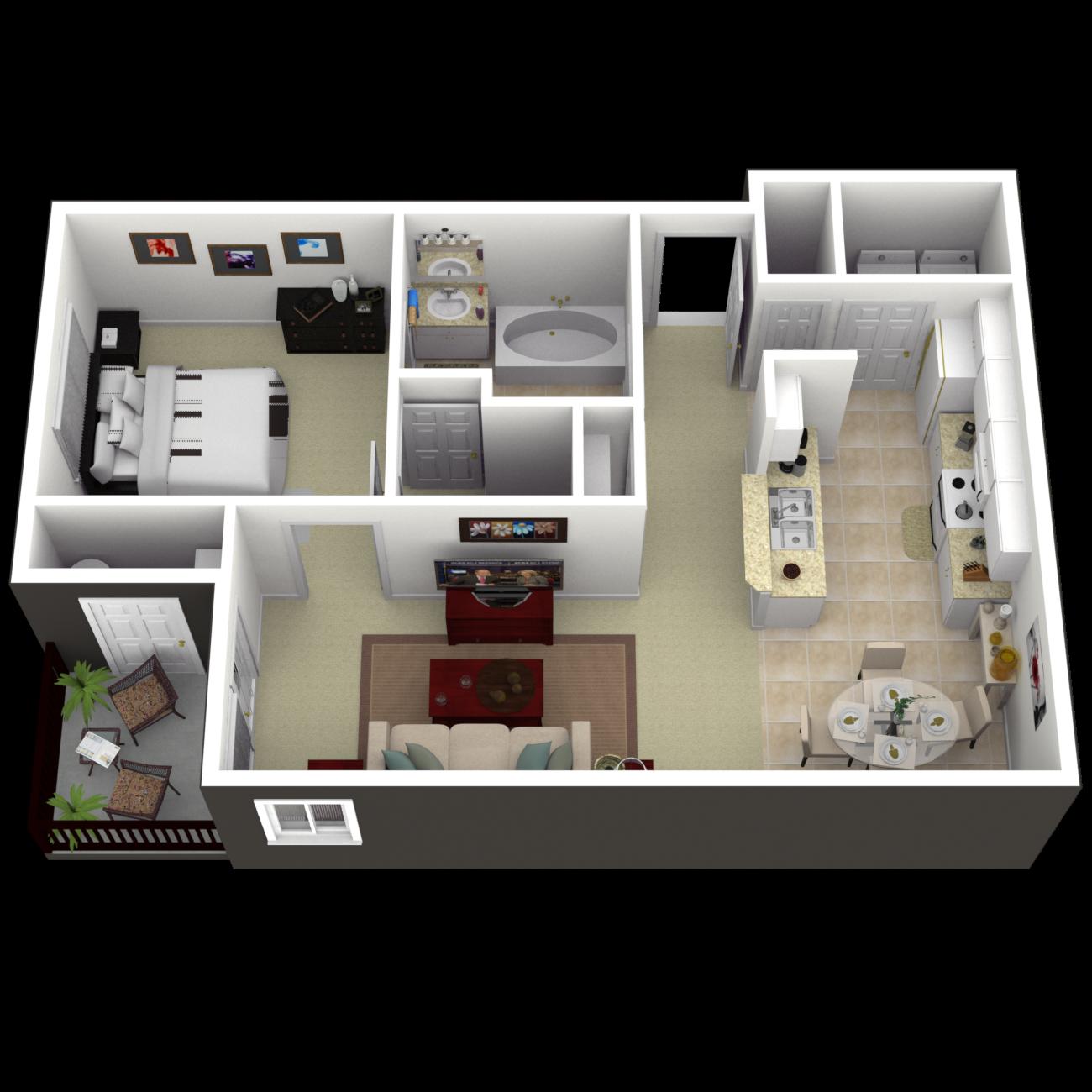 The Alexander Floor Plan 2