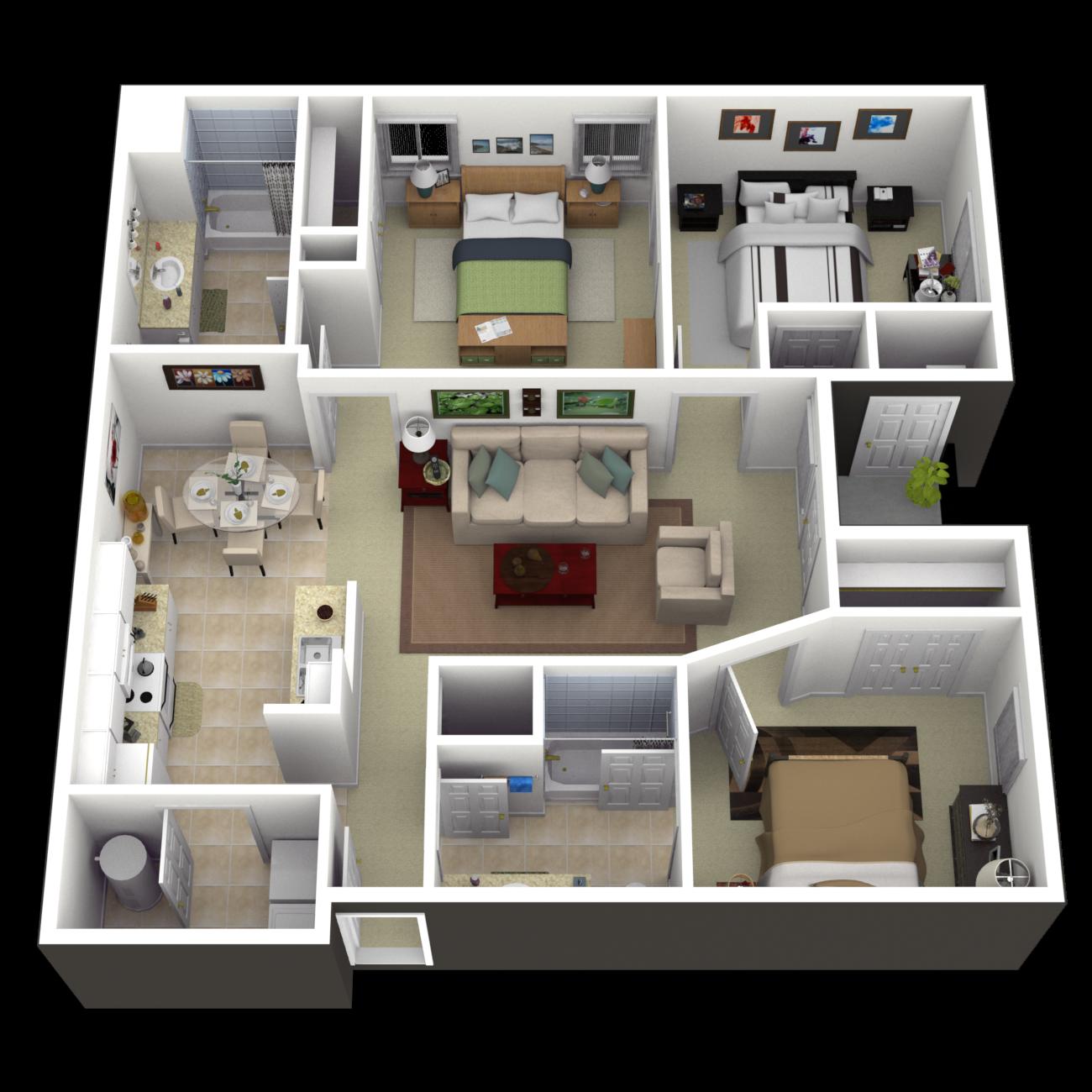 The Tillery Floor Plan 6