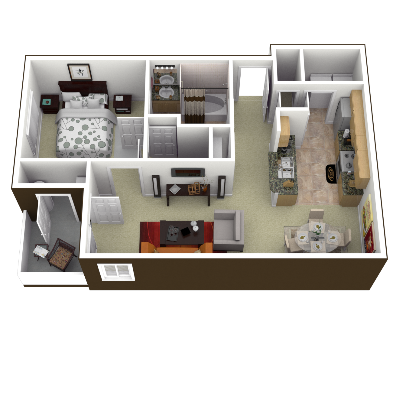 The Lynnhaven Floor Plan 2