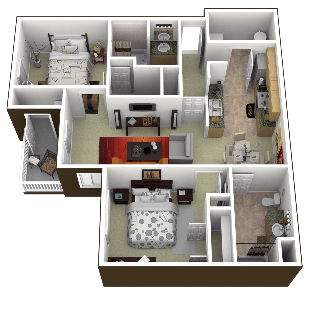 The Yorktown Floor Plan 3