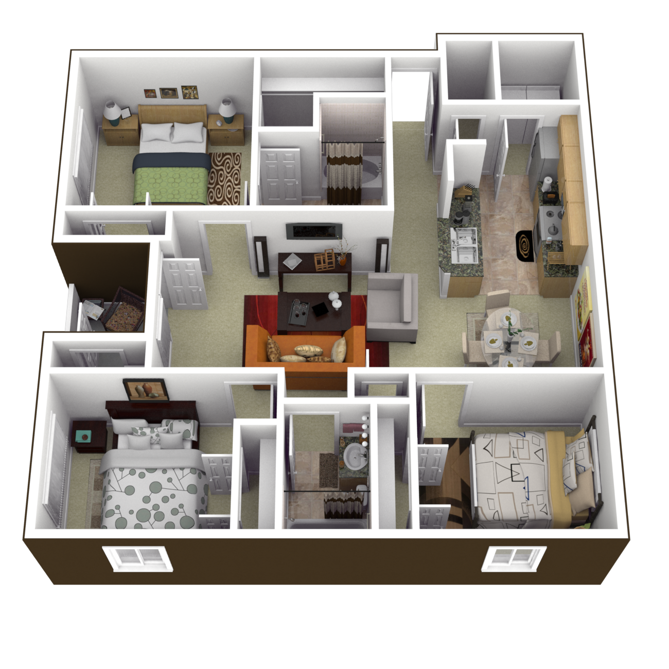 The Berkeley Floor Plan 7