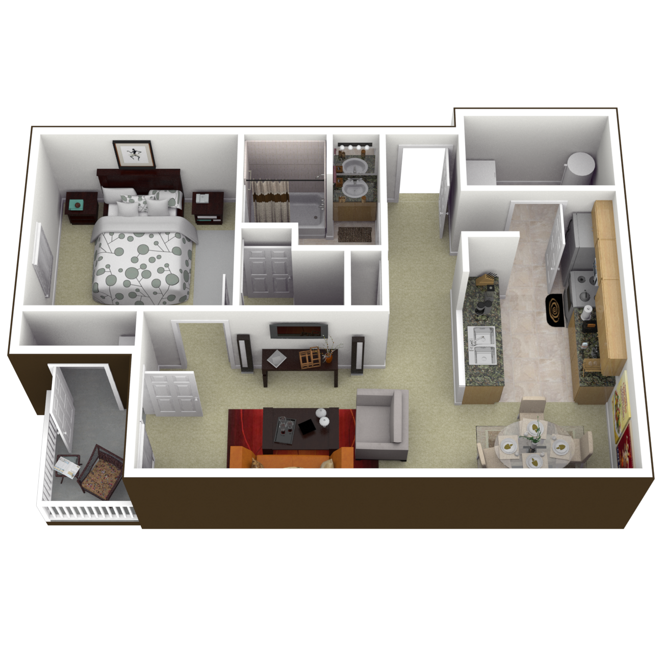 The Jamestown Floor Plan 1