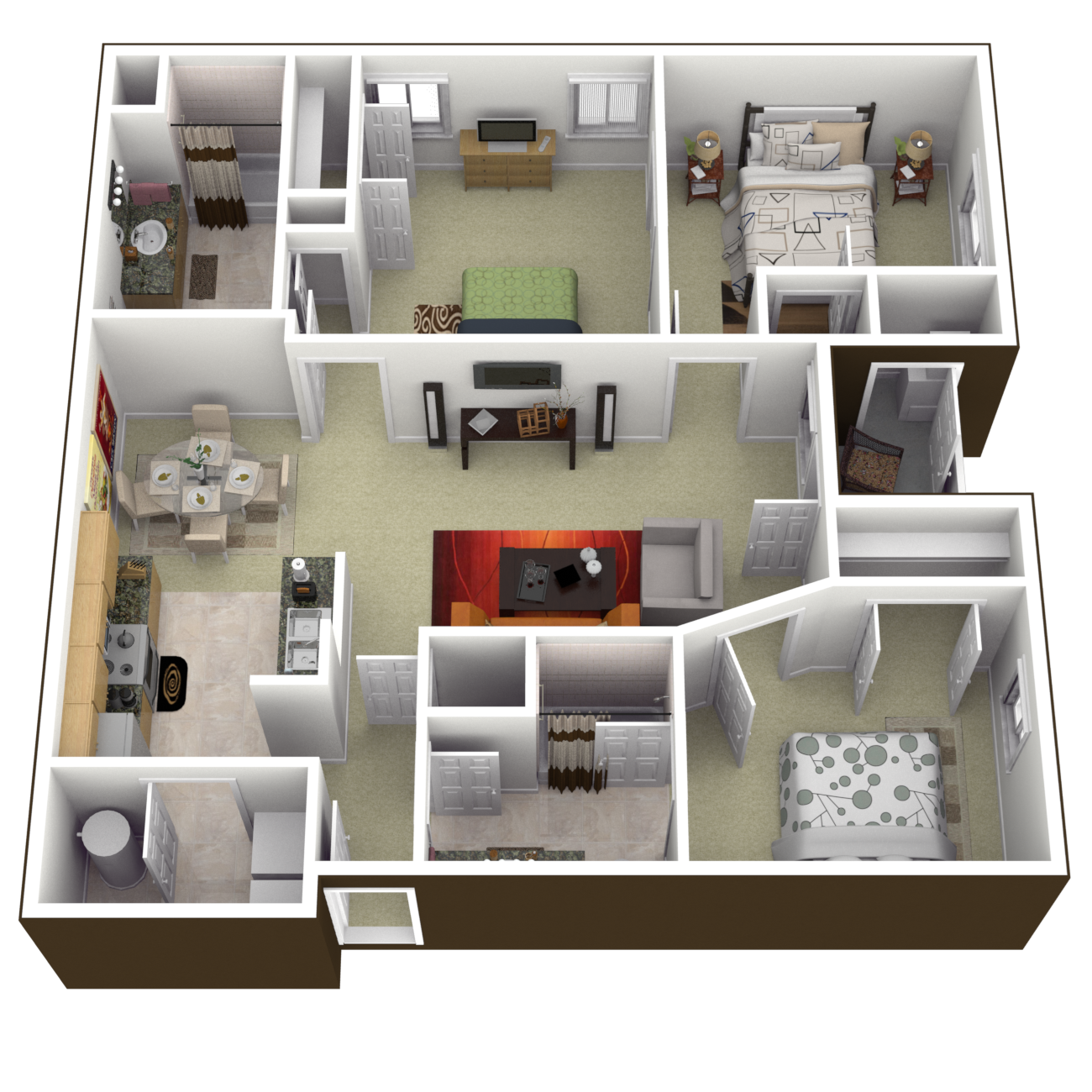 The Williamsburg Floor Plan 6