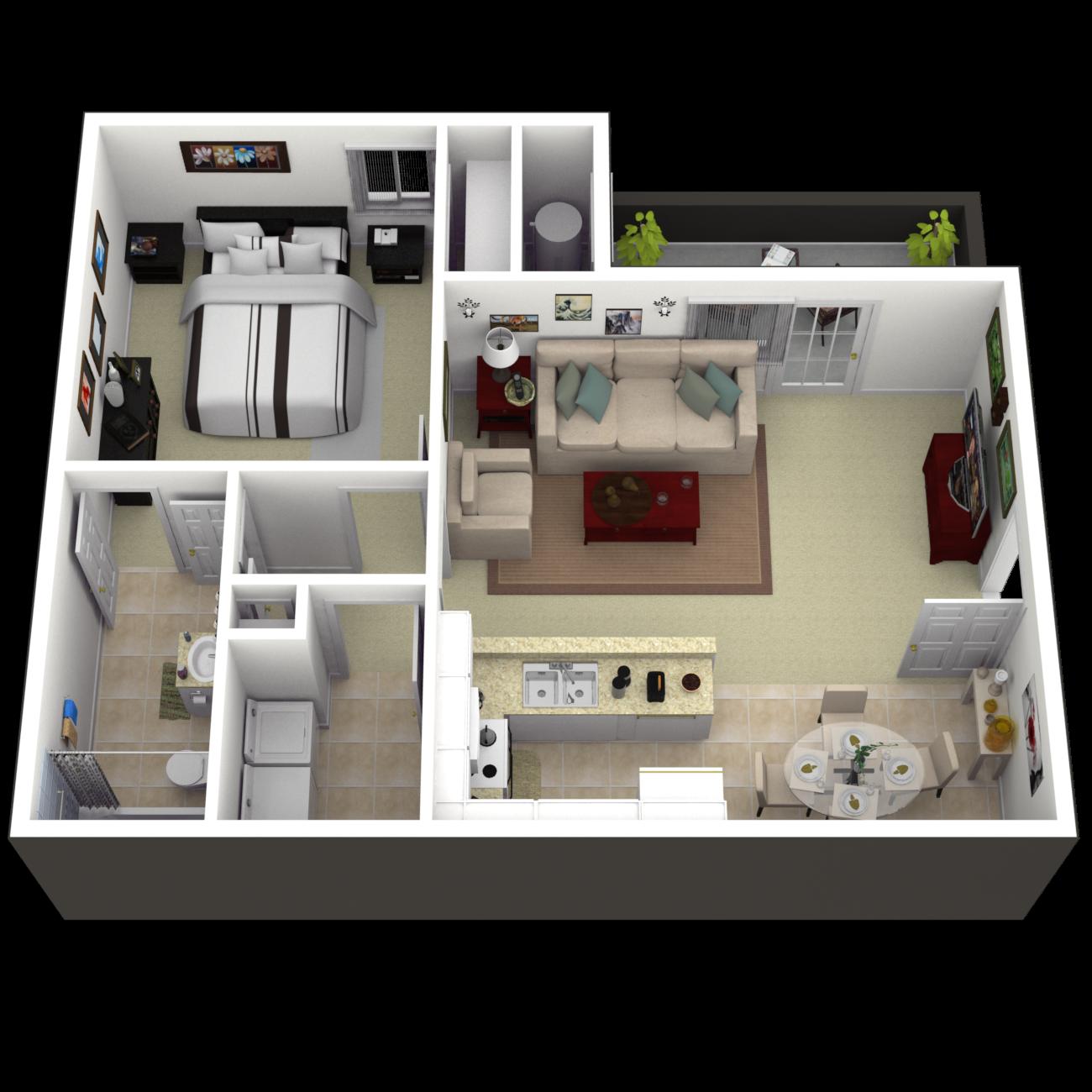 The Belmont Floor Plan 1