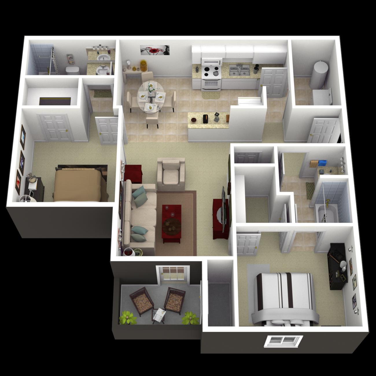 The Dillsboro Floor Plan 2