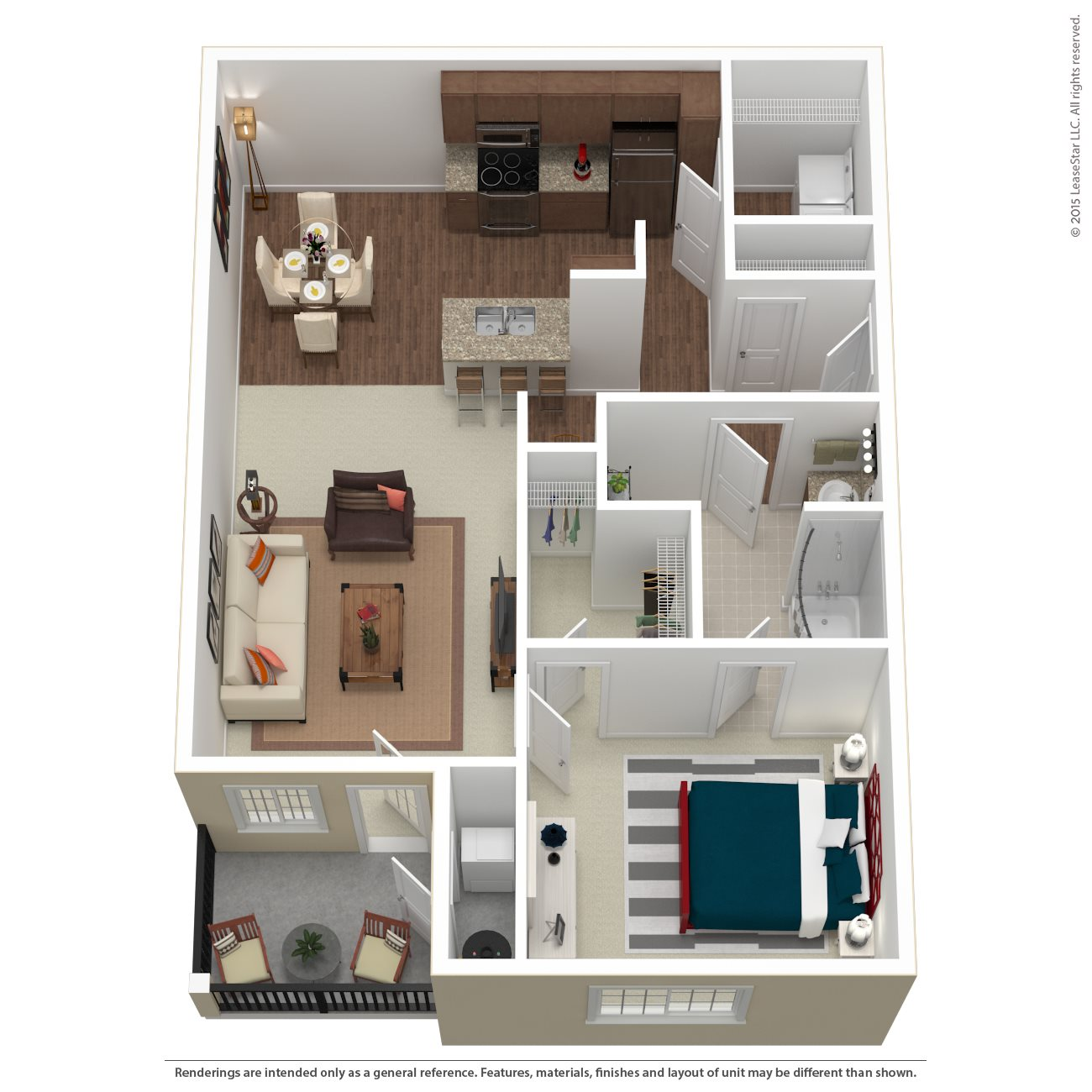 The Squire Floor Plan 1