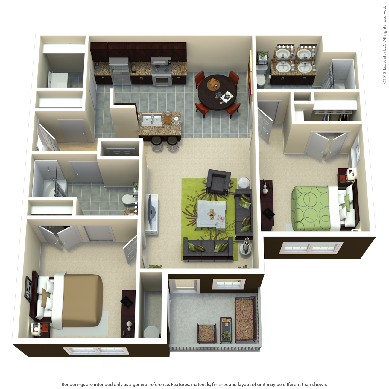 The Highland Floor Plan 2