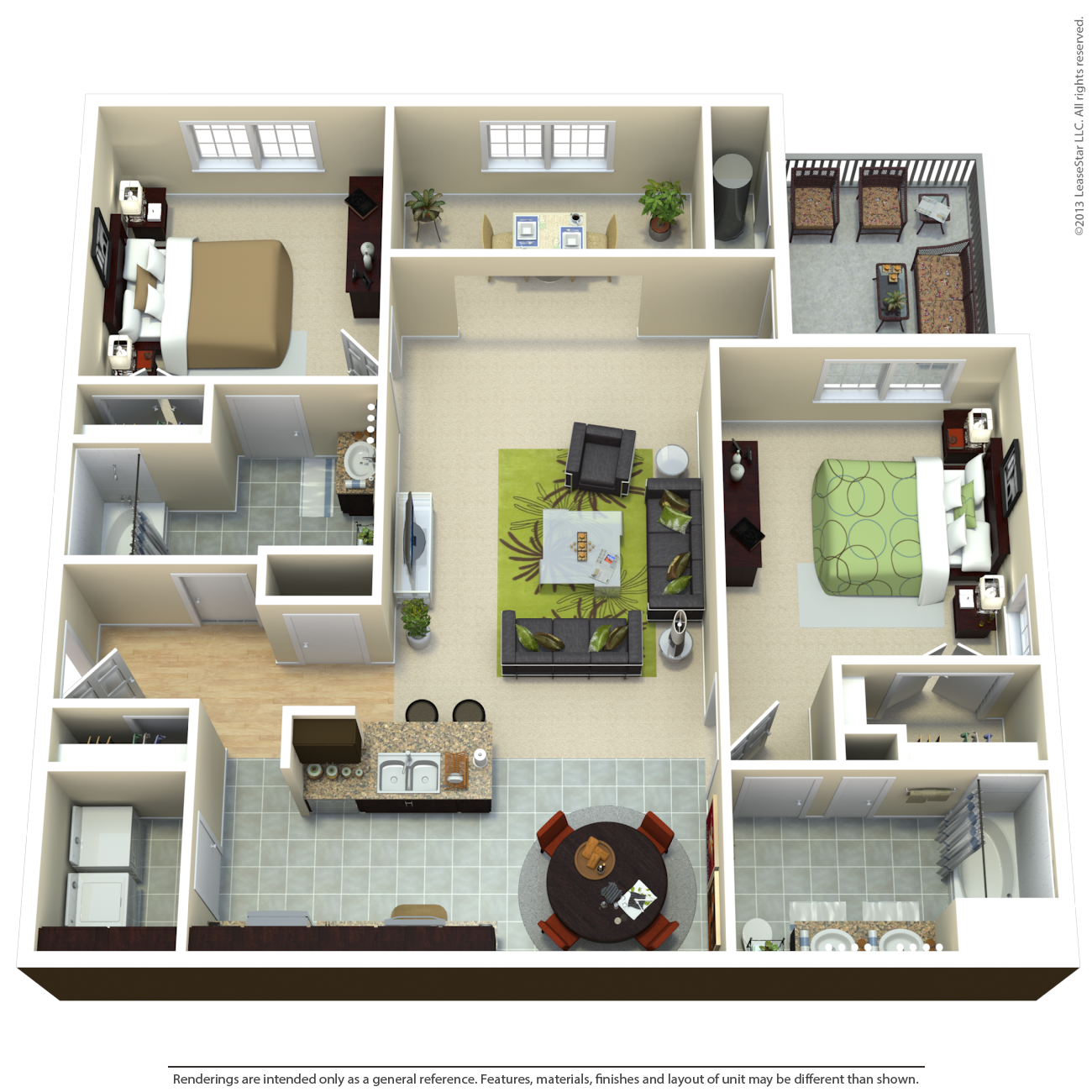 The Shaw Floor Plan 4