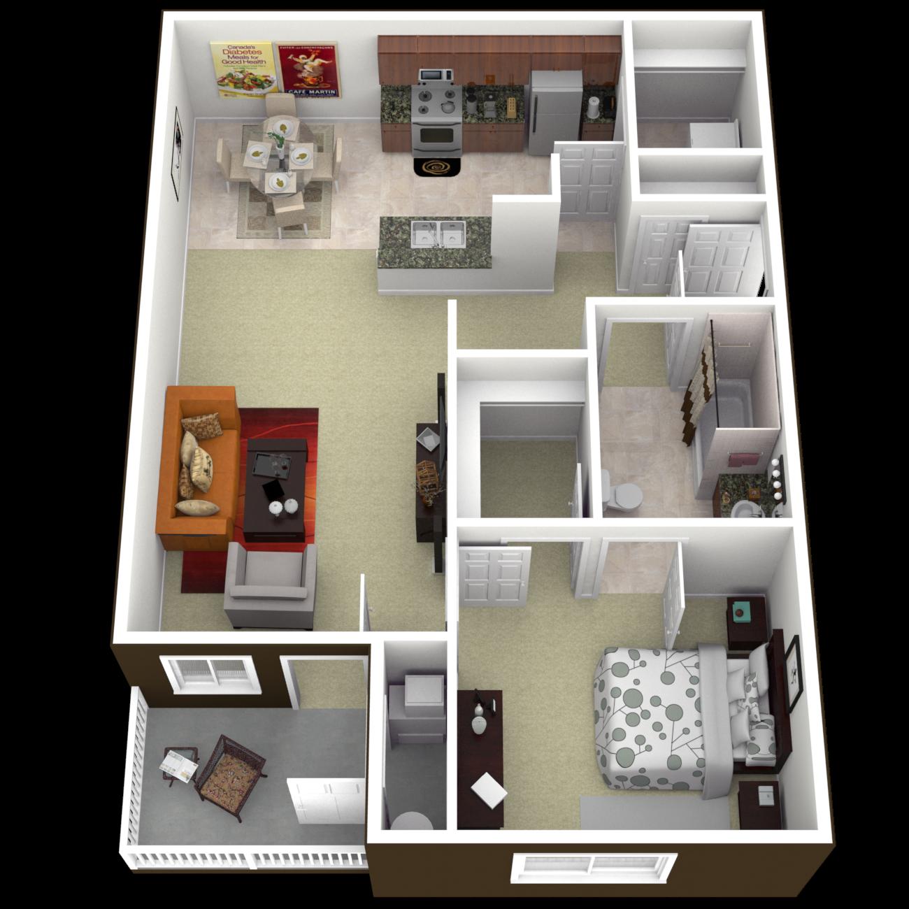 The Monoco Floor Plan 1