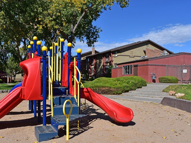 Playground at Sedona Ridge In Albuquerque New Mexico