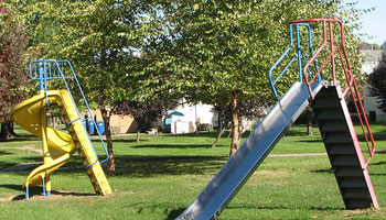 Apartments in Rantoul, IL with a playground