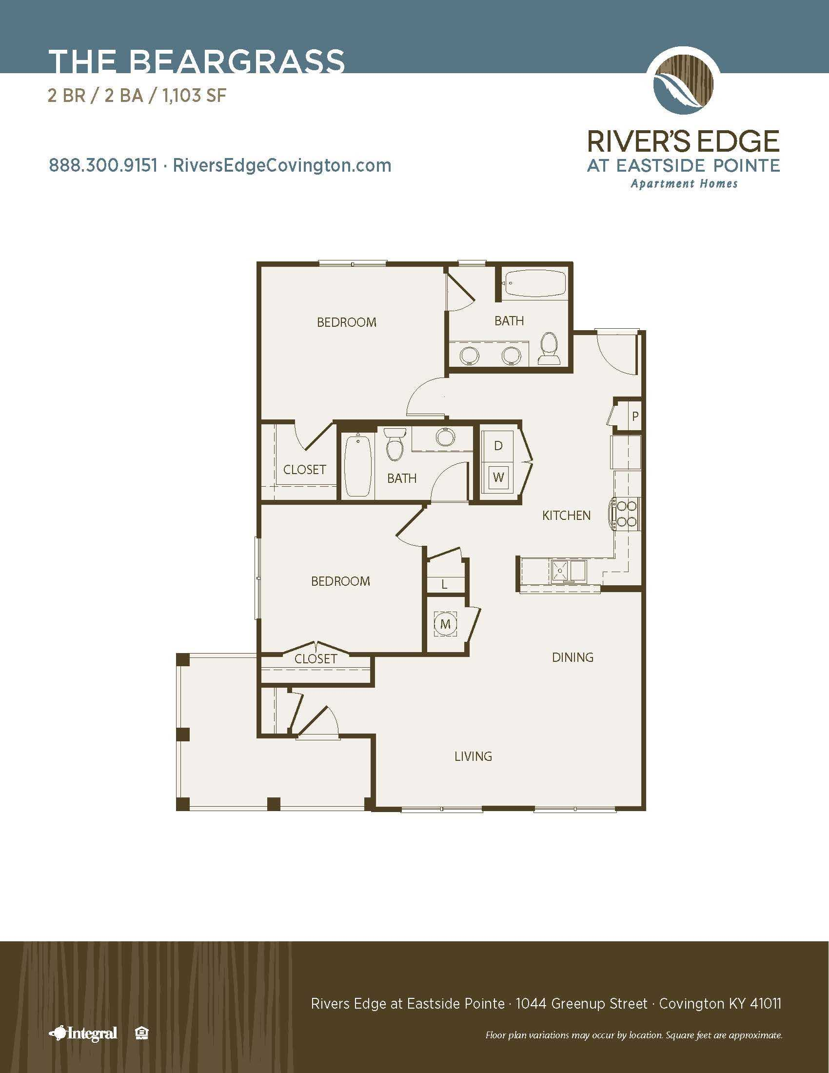 Floor Plans Of River 39 S Edge In Covington Ky