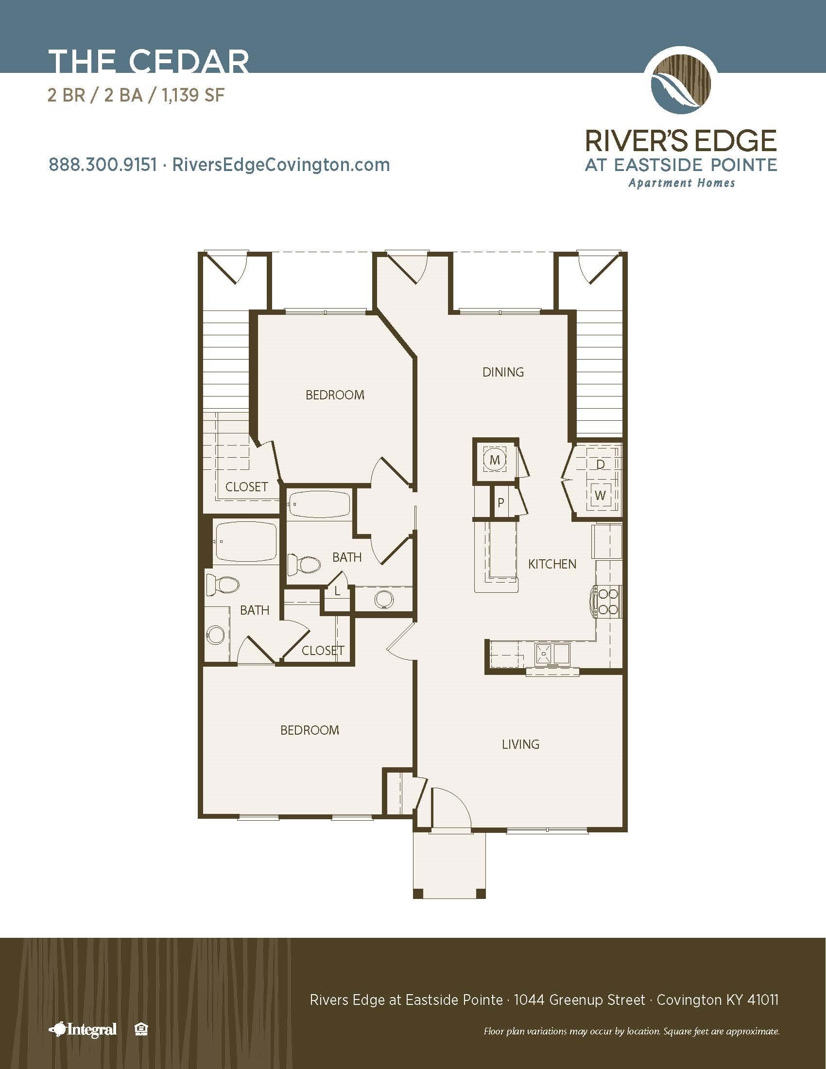 The Cedar Floor Plan 7