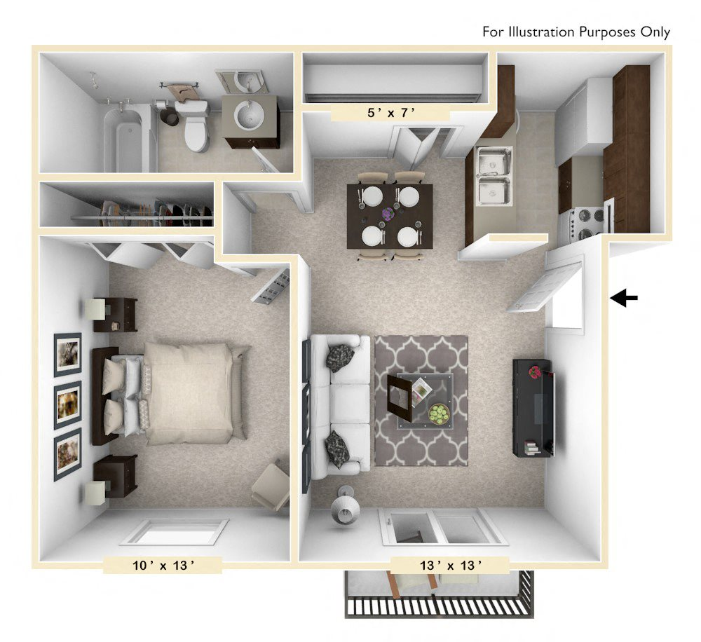 Polo Run Apartments: Studio, 1, 2 & 3 Bedroom Apartments In Greenwood, IN