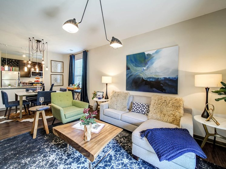 Charming Living Spaces at The Retreat Apartments, Roanoke, 24019