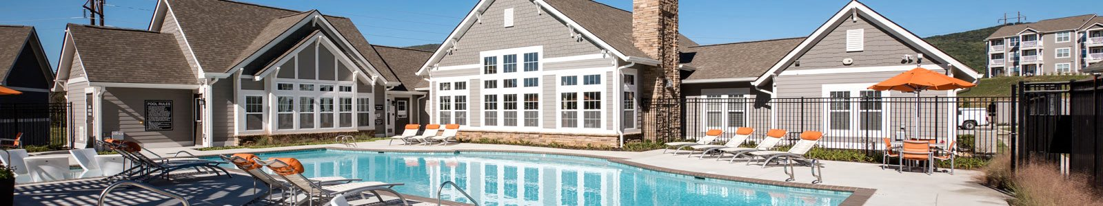 Resort Style Community at River Crossing Apartments, St. Charles, Missouri