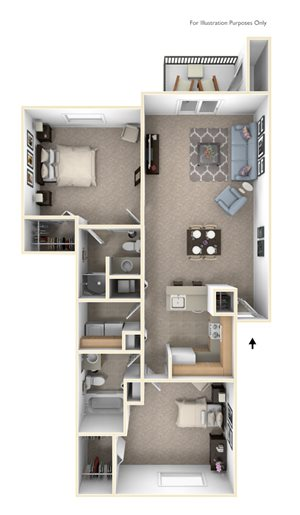 Two Bedroom (Style II)