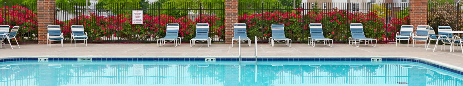 Poolside Sundeck at Brentwood Park Apartments, La Vista, NE