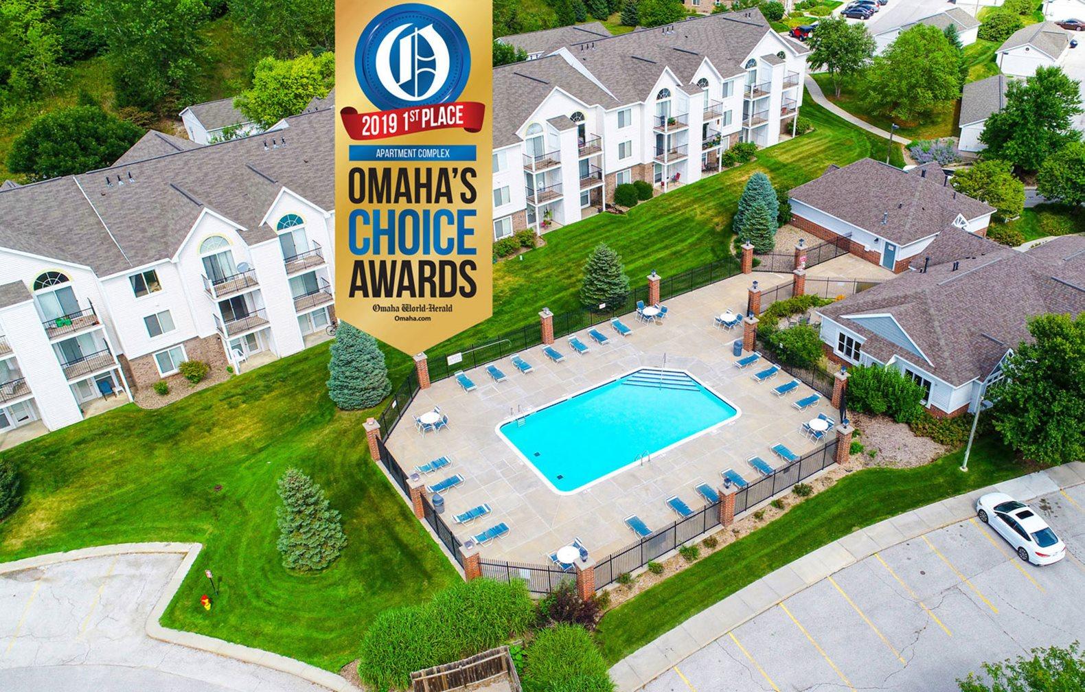 Award Winning Community at Brentwood Park Apartments, La Vista, Nebraska