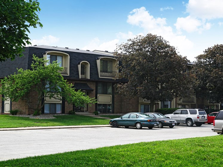 Off Street Parking at Brookside Apartments, Springfield